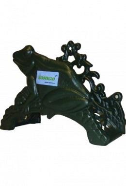 Wandschlauchhalter aus Aluminium Speziallackiert Modell Frosch 2619 grün