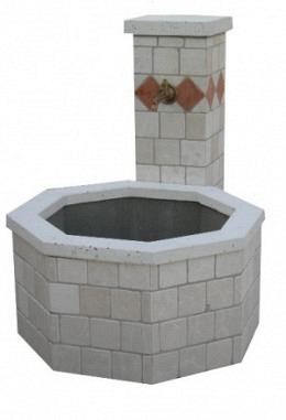 Standbrunnen exklusiv mit großer Wasserwanne Model Roseville 957623502