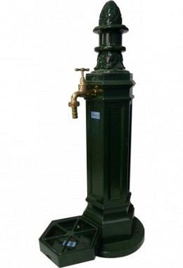 Standbrunnen grün 957687000 aus Aluminium pulverbeschichtet