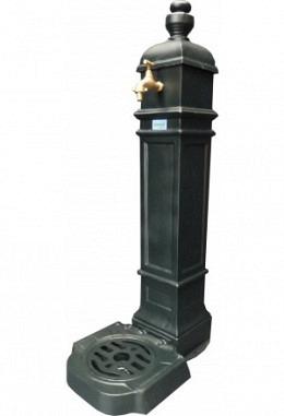 Standbrunnen grün 957626600 aus Aluminium Spezial lackiert Modell Belvedere