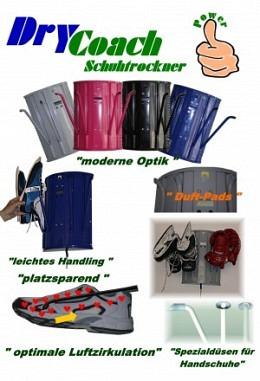 Schuhtrockner Drycoach sanfte Trocknung verschiedene Dekore 957611001