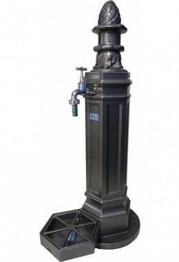 Standbrunnen antik 957687010 aus Aluminium pulverbeschichtet